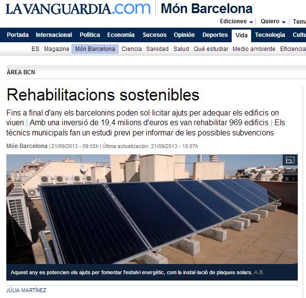 Rehabilitaciones sostenibles