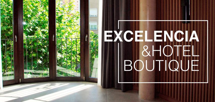 Nuevo Hotel en Arenys de Mar con las ventanas de madera Iscletec
