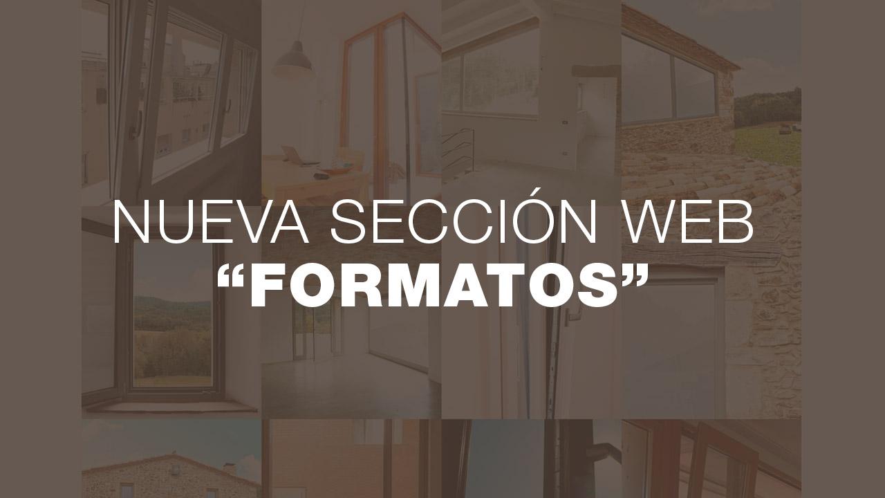nueva seccion formatos web iscletec innova