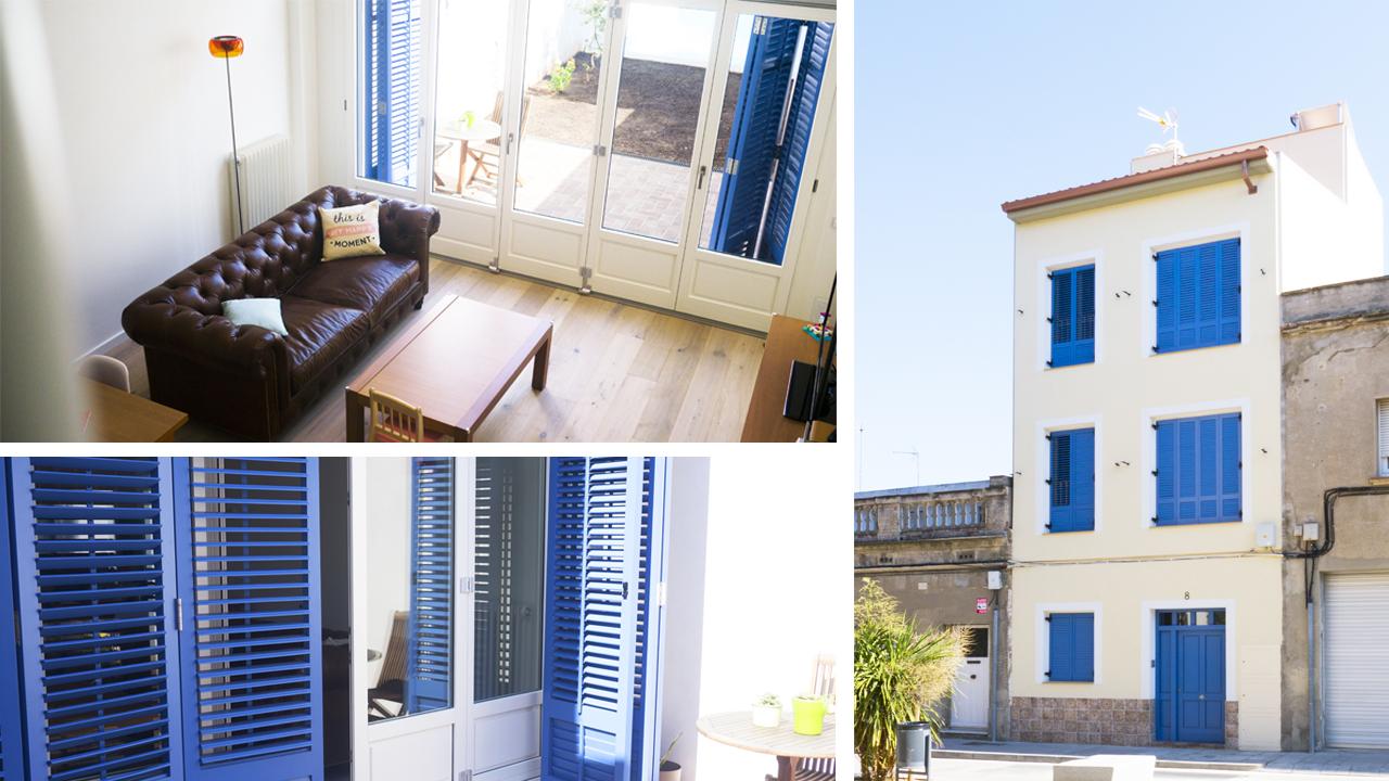 casa azul provenzal